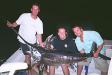 Swordfish caught with Green Magnet Fishing Light